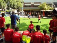 FutbolNet της Μπαρτσελόνα στα Τρίκαλα. Φιλία μέσω ποδοσφαίρου...