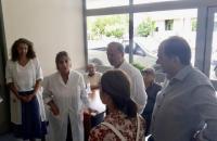 Επίσκεψη στο Νοσοκομείο Τρικάλων οι υποψήφιοι βουλευτές του ΣΥΡΙΖΑ.
