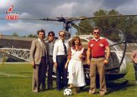 Η μπάλα στη σέντρα με ελικόπτερο... Το μπαράζ του 1981 που έμεινε στην ιστορία !