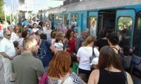 Στο πανηγύρι της Καλαμπάκας με το τρένο.
