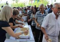 Ο Δήμαρχος Πύλης Κων/νος Μαράβας στο Κοτρώνι Ανήμερα της Αγίας Παρασκευής