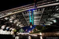 Aerial dance στην κεντρική γέφυρα των Τρικάλων!