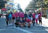 3 on 3 street volley στον πεζόδρομο της Ασκληπιού