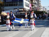 Με μεγαλειώδη παρέλαση τίμησαν τα Τρίκαλα την εθνική επέτειο του