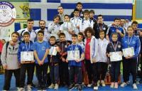 Με 16 μετάλλια στο πανελλήνιο τουρνουά «Κωνσταντίνος Παπαγεωργίου» πάλης οι αθλητές του ΑΠΣ Τρίκαλα