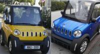 Το Κινεζικό ηλεκτρικό διθέσιο αυτοκίνητο πόλης με ελληνική τεχνογνωσία...