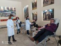 Σύλλογος Υπαλλήλων Π.Ε.Τρικάλων: Αισιόδοξο μήνυμα - Επιτυχημένη Εθελοντική Αιμοδοσία