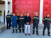 Συναντήσεις Χατζηγάκη σε Πυροσβεστική και Αστυνομία