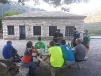 Ο Ορειβατικός Περιηγητικός Όμιλος Πύλης σε συνάντηση με την ομάδα