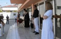 Παράξενο ! : Χωρίς αναφορά στους... εβραίους ο αγιασμός στο 5ο ΓΕΛ Τρικάλων !