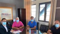 Επίσκεψη Χατζηγάκη στο Υπεραστικό ΚΤΕΛ