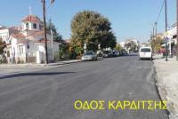 Aσφαλτόστρωση από τον Δήμο Τρικκαίων και έργα σε Ελληνόκαστρο και Μεγαλοχώρι