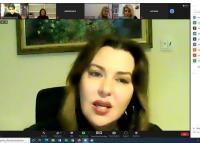 Πραγματοποιήθηκε η τηλεδιάσκεψη με τη συγγραφέα Δήμητρα Ιωάννου