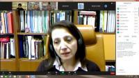Πραγματοποιήθηκε η τηλεδιάσκεψη με την κα Μαρία Σχοινά, Αναπληρώτρια Καθηγήτρια του ΑΠΘ