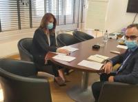 Συνάντηση Κ. Παπακώστα με τον Αναπληρωτή Υπουργό Υγείας κ. Βασίλη Κοντοζαμάνη