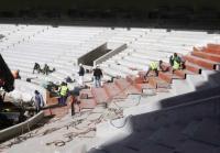 «Opap Arena»: Έτοιμη η πτυσσόμενη εξέδρα (vid)