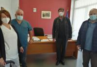Επίσκεψη της Λαϊκής Συσπείρωσης στο Νοσοκομείο Τρικάλων