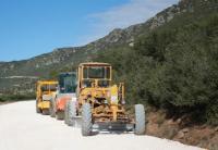 Eργασίες βελτίωσης του δρόμου προς την Ιερά Μονή Μεγαλομάρτυρος Αγίου Προκοπίου του Δήμου Πύλης