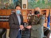 O νέος διοικητής της ΣΜΥ Ταξίαρχος Κωνσταντίνος Δαλάκης