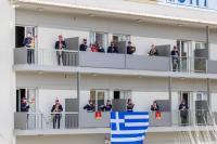 Δημοτική Φιλαρμονική Τρικάλων: Σαν να ήταν παρέλαση… παιάνισε από μπαλκόνια