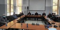 Σύσκεψη στο Δημαρχείο Φαρκαδόνας για τις ζημιές στα σχολεία από τους σεισμούς