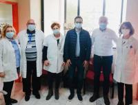 Ενίσχυση του Κέντρου Υγείας Τρικάλων ζητά ο Χατζηγάκης