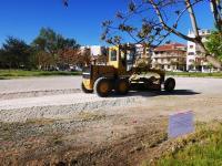 Βελτιώσεις στον χώρο στάθμευσης του πρώην στρατοπέδου «Παπαστάθη»