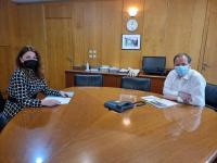 Συνάντηση εργασίας Κατερίνας Παπακώστα με Κ. Καραμανλή