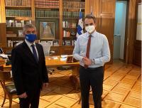 Συνάντηση με τον Πρωθυπουργό ο Περιφερειάρχης Θεσσαλίας για αγροτικές αποζημιώσεις, φράγματα, σεισμό, Ιανό  και Αχελώο