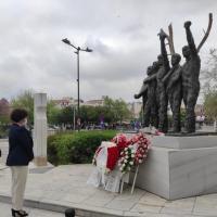 Ο Δήμος Τρικκαίων απέτισε φόρο τιμής στους 5 ΕΠΟΝίτες