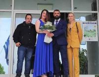 Πολιτικός γάμος στο Δημαρχείο Φαρκαδόνας
