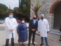 Μεγάλη Εβδομάδα στο Νοσοκομείο των «Αγίων Αναργύρων» για τον Χρίστο Λιάπη