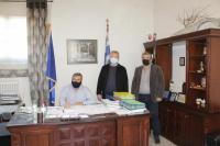 Νέες συμβάσεις έργων υπέγραψε ο Δήμαρχος Πύλης κ. Κωνσταντίνος Μαράβας
