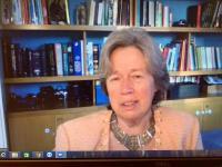 Πραγματοποιήθηκε η τηλεδιάσκεψη με την κα Αθηνά Λινού, Καθηγήτρια Επιδημιολογίας του ΕΚΠΑ
