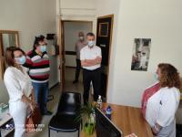 Περιοδεία του Τάσου Τσιαπλέ στελέχους του ΚΚΕ & περιφερειακού συμβούλου Θεσσαλίας στο Δήμο Φαρκαδόνας