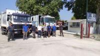 2+5 νέα απορριμματοφόρα στον Δήμο Τρικκαίων