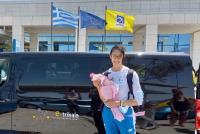 Με όχημα του Δήμου Τρικκαίων η επιστροφή της Φένιας Τζέλη στα πάτρια εδάφη