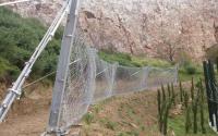 Αντικαθιστά φράχτη βραχοπτώσεων στην Καλαμπάκα η Περιφέρεια Θεσσαλίας