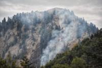Αντιπροσωπεία  του ΚΚΕ στην  περιοχή της πυρκαγιάς στα Στουρναρέικα