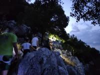 Την καθιερωμένη νυχτερινή ανάβαση στην κορυφή Αη Λιάς πραγματοποίησε και φέτος ο Ο.Π.Ο.Π.