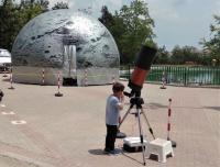 Το Πλανητάριο στην Πύλη – προβολές στον θόλο και παρατήρηση με τηλεσκόπια