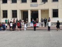 Στο Δημοτικό Σχολείο Ζάρκου για τον Αγιασμό ο Χρήστος Μιχαλάκης