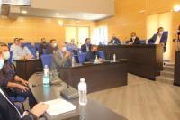 Σύσκεψη Αγοραστού με Χρ. Τριαντόπουλο και Δημάρχους για τον Ιανό