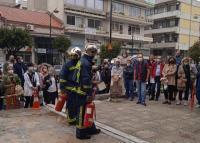 Άσκηση εκκένωσης του κτιρίου της Π.Ε. Τρικάλων για έκτακτη ανάγκη