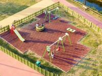 Εγκαινιάζεται η παιδική χαρά στο «νησάκι» του πάρκου Ματσόπουλου
