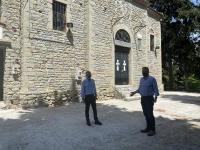 Ολοκληρώνεται η αποκατάσταση του Ι.Ν. Προφήτη Ηλία Τρικάλων με νέο έργο από την Περιφέρεια Θεσσαλίας